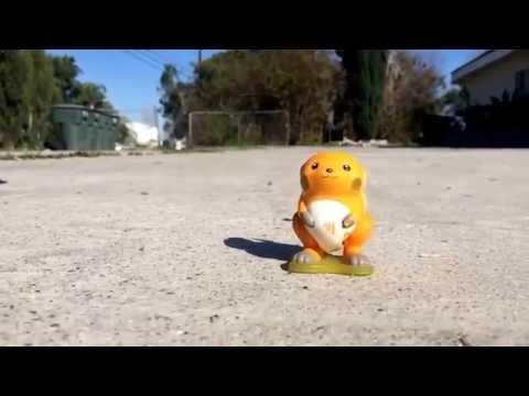 Pokemon (Raichu) vs Mallet. [WARNING GRAPHIC CONTENT]