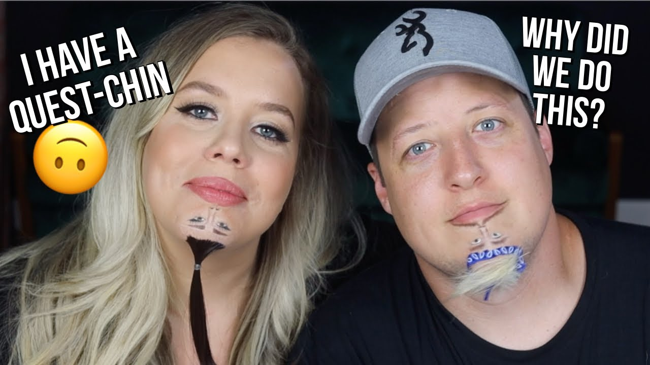 Turning our Chins into Ariana Grande & Justchin Bieber