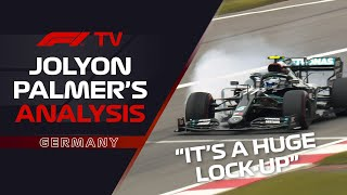 Bottas And Hamilton's Duel For Dominance | Jolyon Palmer Analysis | 2020 Eifel Grand Prix