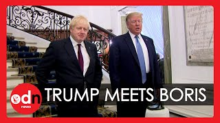 'Where's Breakfast?' – Donald Trump Meets Boris Johnson at G7 in Biarritz