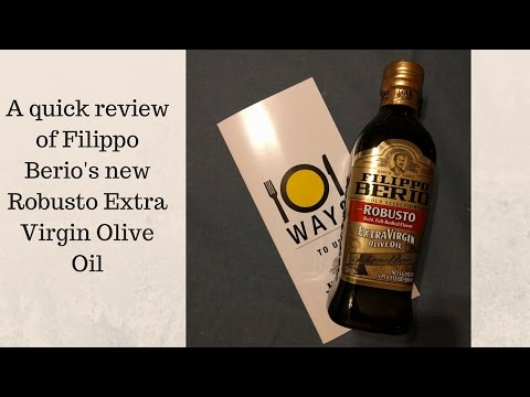 Filippo Berio Olive Oil Review