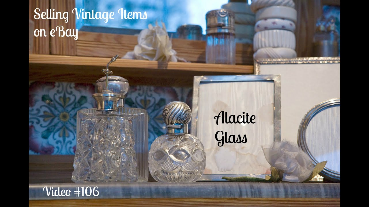 0f008d932c0 Vintage Item to Sell on eBay - Alacite Collectible Glass - YouTube