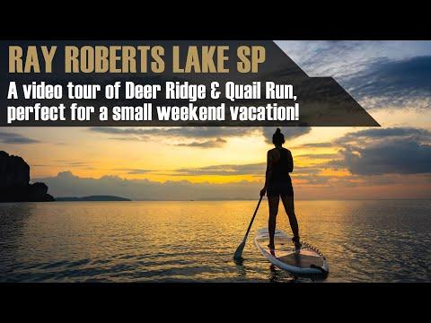 A tour of Ray Roberts Lake State Park (Isle du Bois Unit)