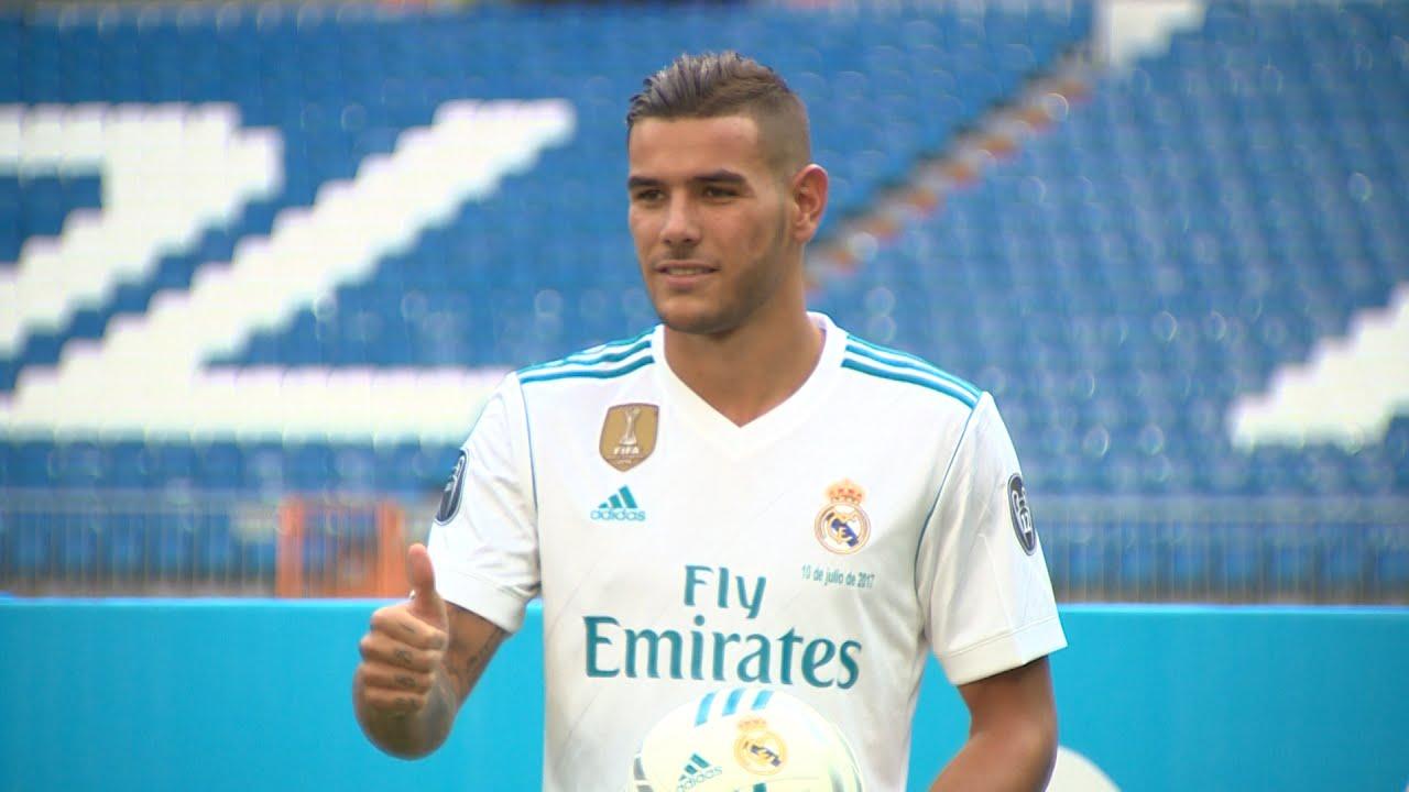 5 pemain gacor dan bapuk pada laga liga champions liverpool vs ac milan. Presentación del jugador del Real Madrid Theo Hernández ...