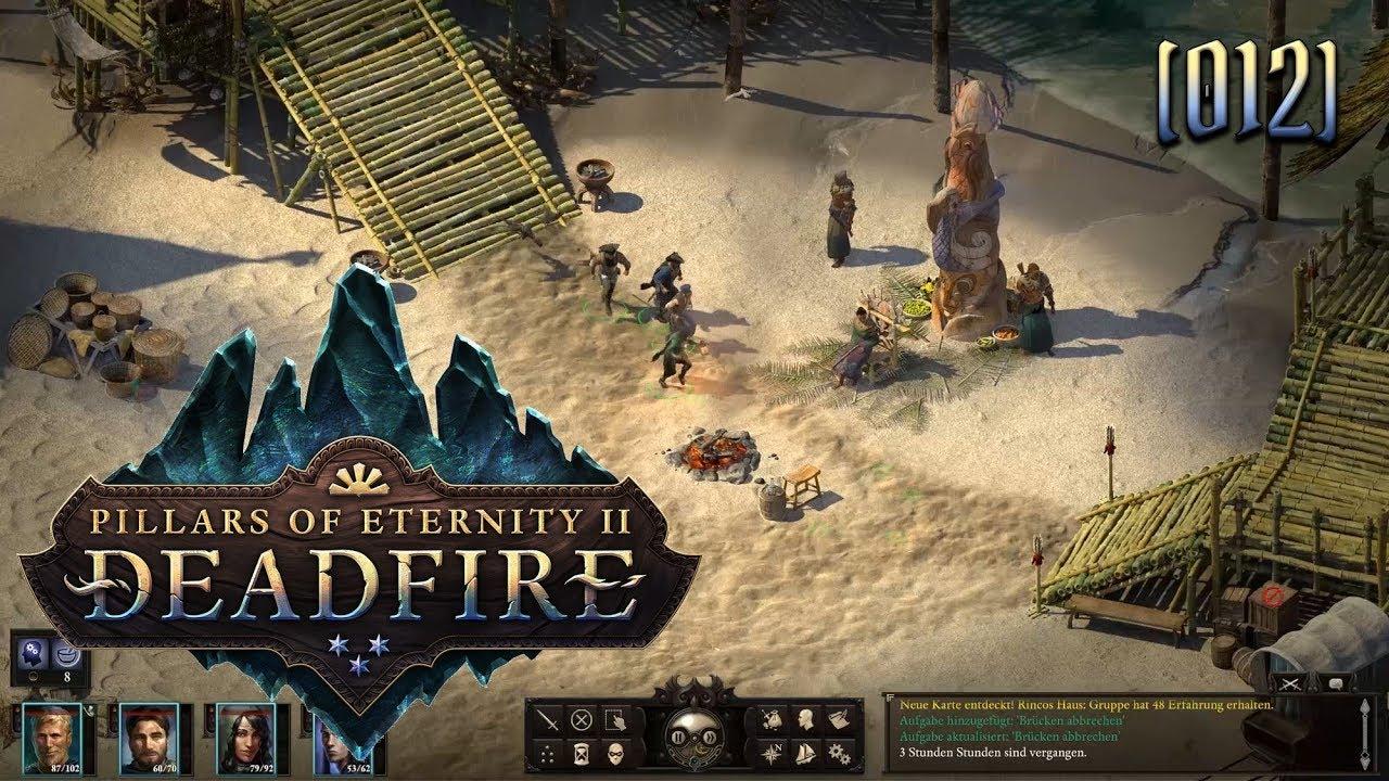 Pillars Of Eternity Karte.Pillars Of Eternity 2 Deadfire 012 ärger Im Paradies