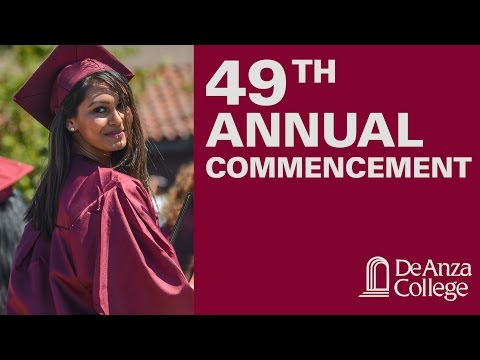 49th Annual Commencement | De Anza College