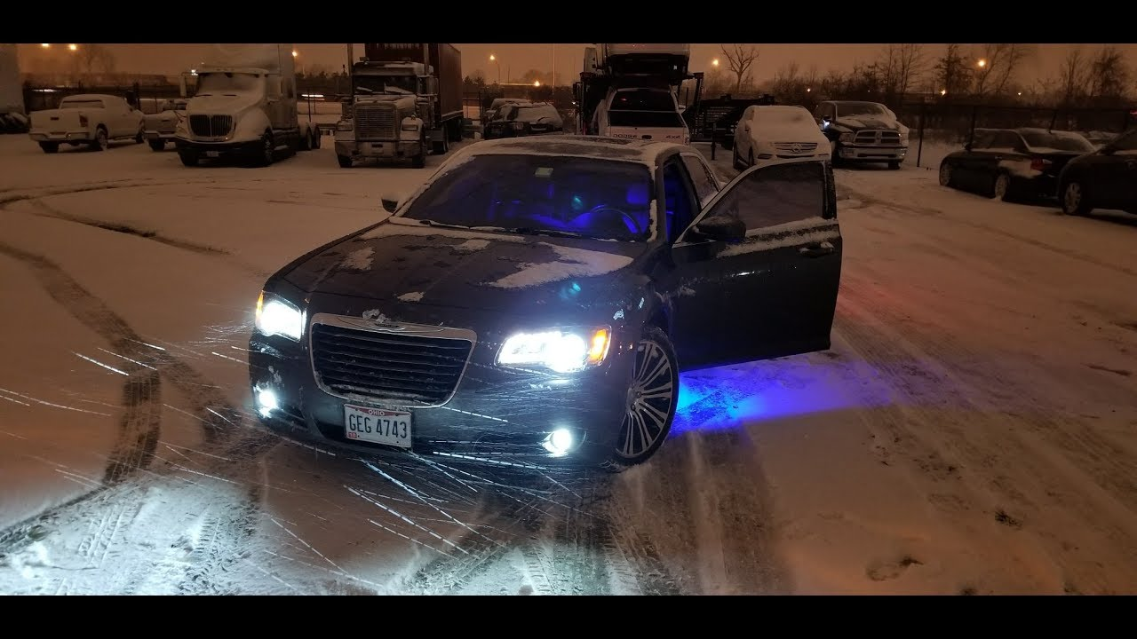 chrysler 300 led headlights and fogs install plug and play  [ 1280 x 720 Pixel ]