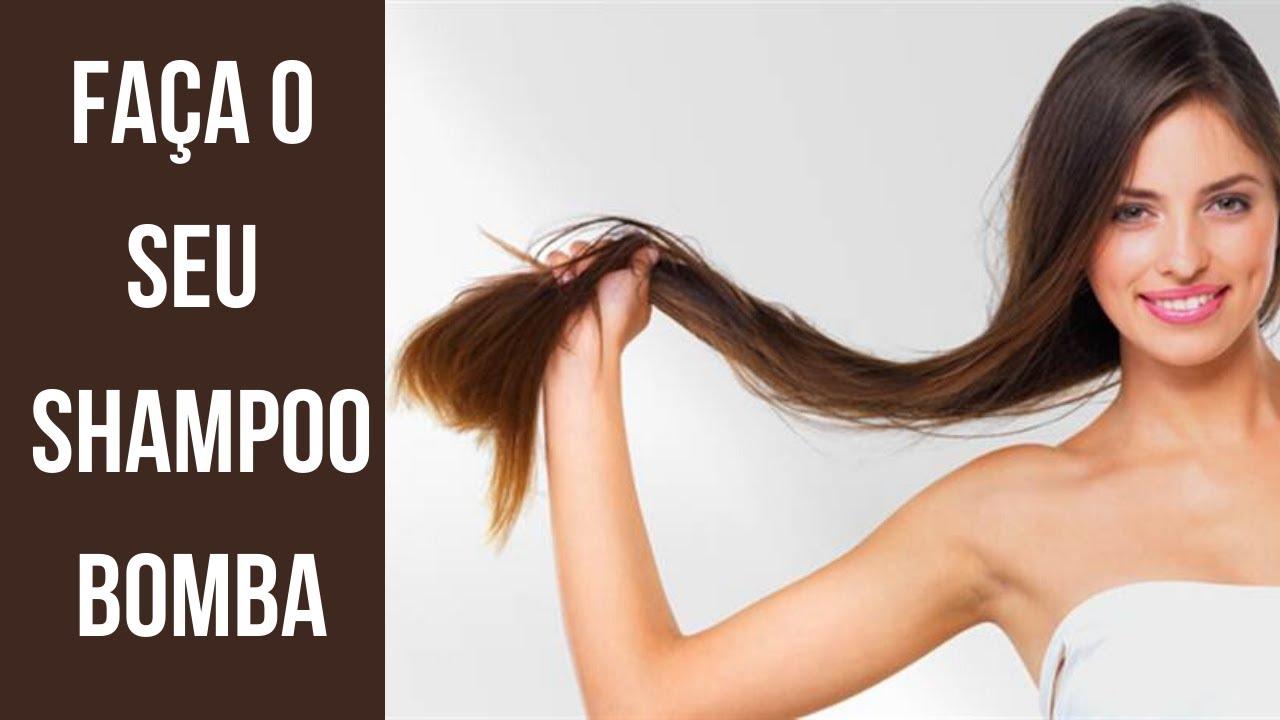 3 receitas caseiras para acelerar o crescimento capilar shampoo bomba