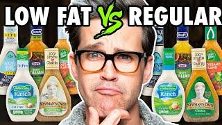 Download Low Fat vs. Regular Salad Dressing Taste Test Mp3 and Videos