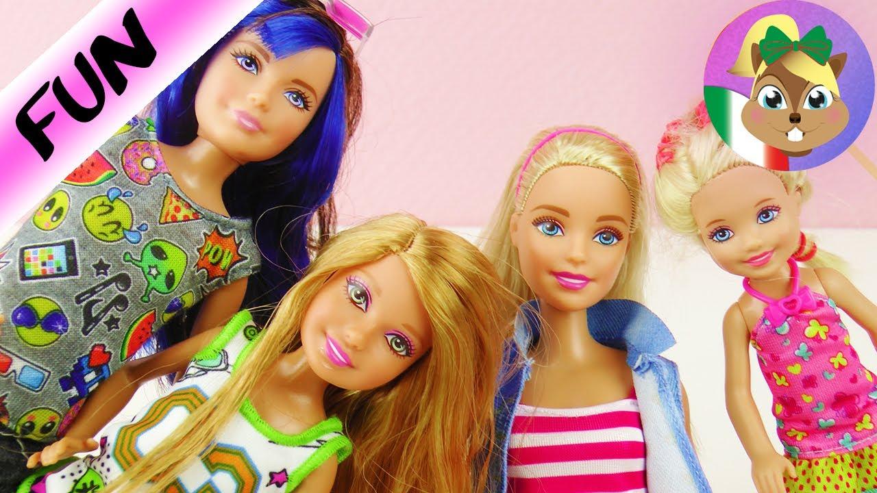 Le Skipper Stacie Sorelle Barbie Sue Gioca E Con Me Shelly ZxwxgP5Rpq