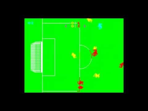 Manchester United Europe ZX Spectrum Gameplay (w/custom music)