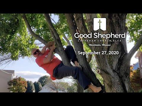 Good Shepherd Lutheran Church - Worship - September 27, 2020