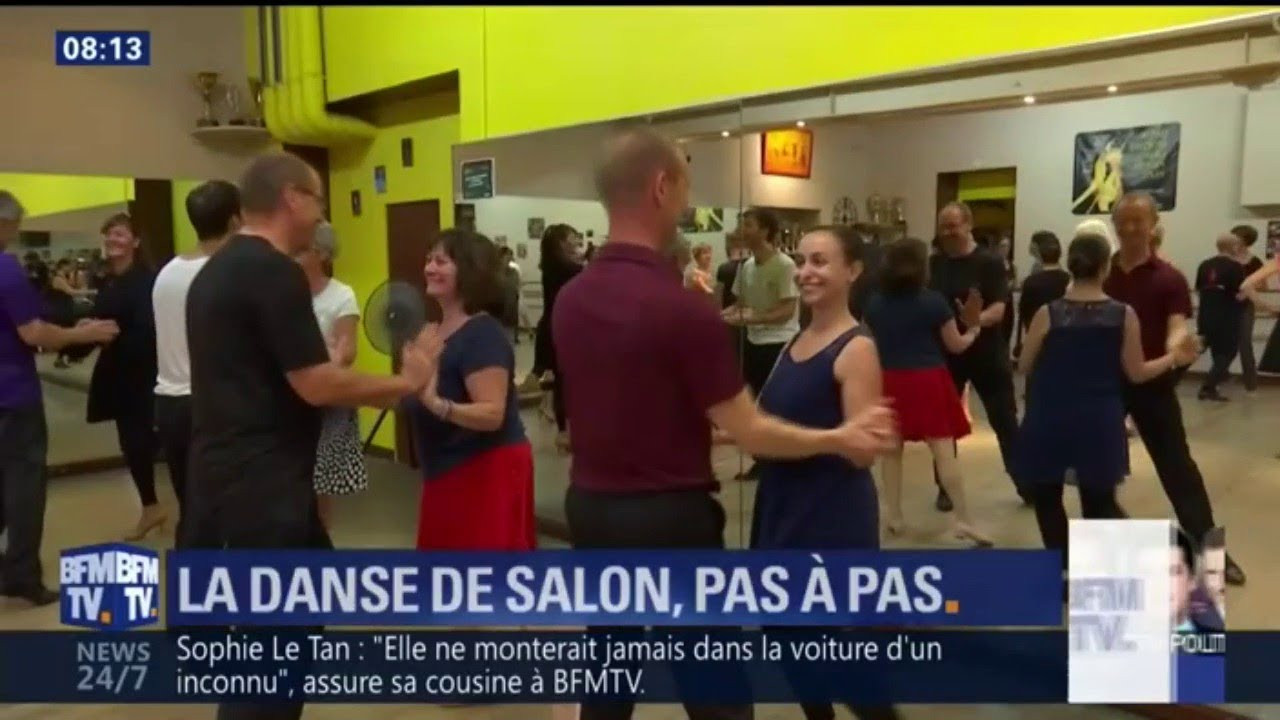 La Danse De Salon Pas à Pas Youtube