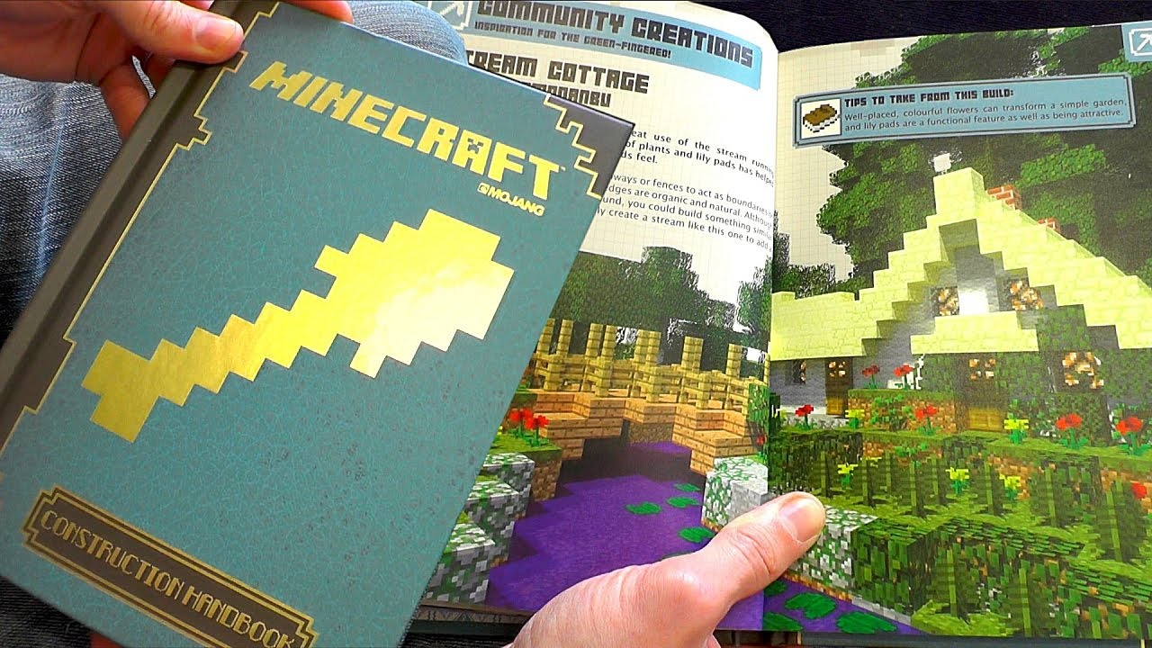 minecraft construction handbook guide book review