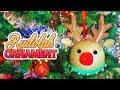 DIY Oversize Rudolph Ornament //  Christmas 2018
