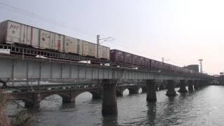2012.03.14 福岡貨物ターミナル-千早操車場 貨物