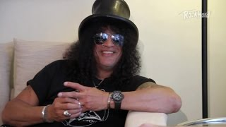 Slash on why he wears sunglasses all the time