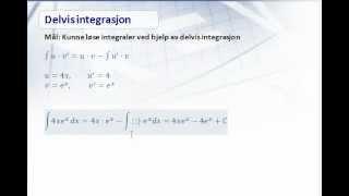 Kap 7.3 - Delvis integrasjon