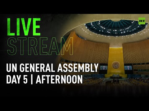 UN General Assembly gathers for fifth day of high-level 76th session: afternoon