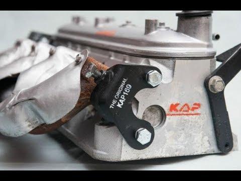 gm 5 3 liter exhaust manifold clamp installation guide to a broken rear bolt