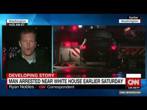 Car and bomb claim at White House sets off security alert   U S