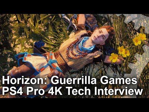 Horizon Zero Dawn/ Guerrilla Games PS4 Pro 4K Tech Interview