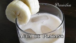 Agua De Platano * Video 94 *