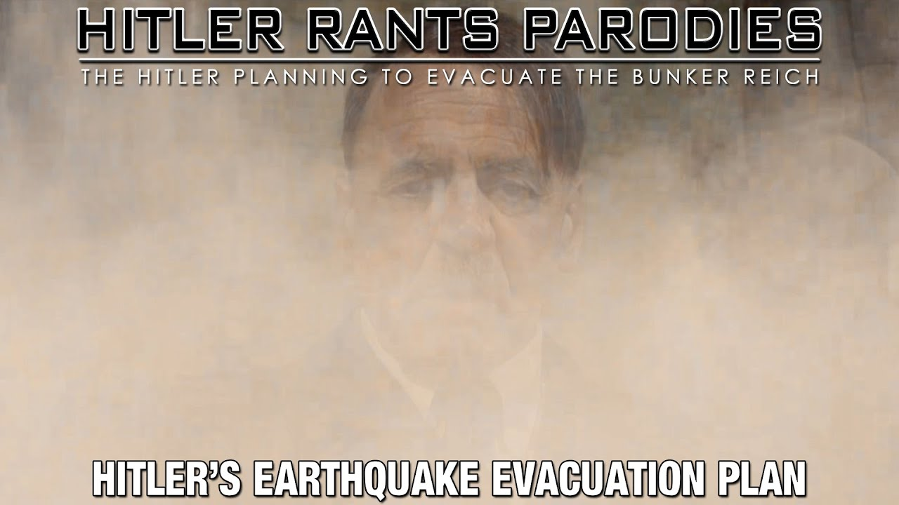 Hitler's earthquake evacuation plan