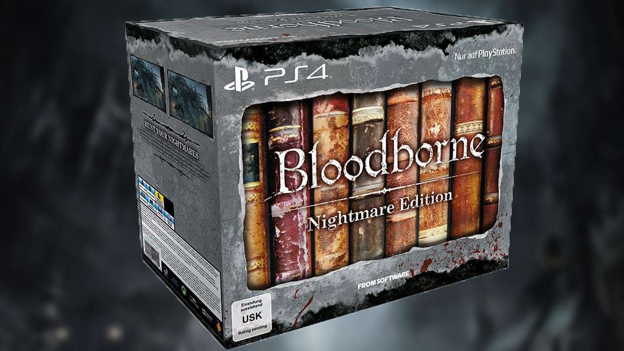 Unboxing the Very Rare Bloodborne Nightmare Edition