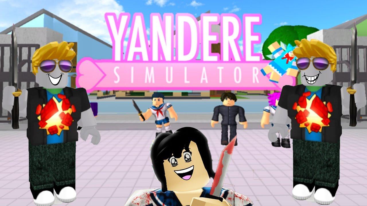 Yandere Simulator Roblox Multijoueur ( Multiplayer ) Français ( Fr ) Frite Et Sora Decouvrent Yandere Simulator Sur Roblox Youtube