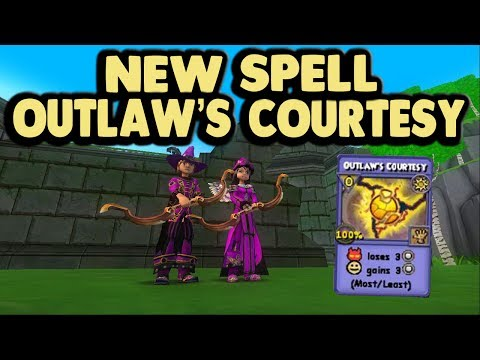Wizard101 NEW SPELL Steel giant
