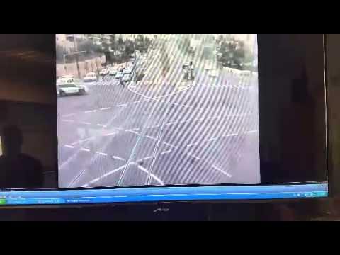 פיגוע הדריסה בירושלים - 5.11.14 - רגעי לכידת המחבל