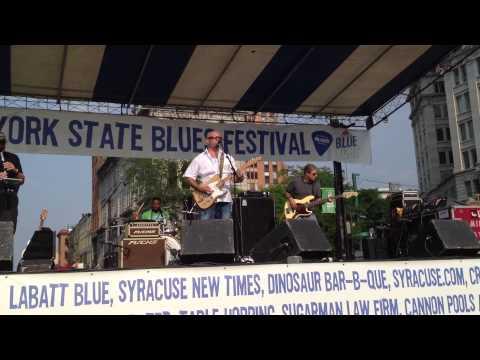 Mick Hayes  2012 NYS Blues Festival  Syracuse NY