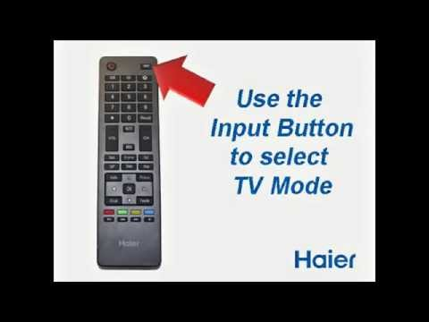 Channel Scan Process - Haier Televisions