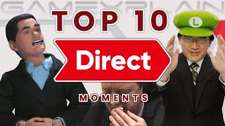 Top 10 BEST Nintendo Direct Moments! (10 Year Anniversary)
