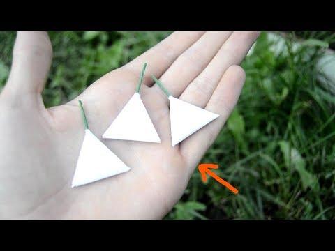 Как сделать петарду из бумаги