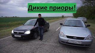 Вот почему Кавказцы любят приоры! Гонки на чипованных приорах.