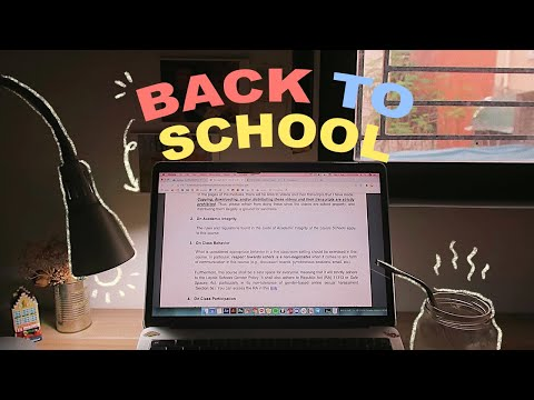 🎒 online semester prep (notion, tips, cleaning) 🎒