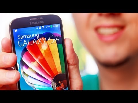 Samsung GALAXY S4 - REVIEW-Test & Unboxing