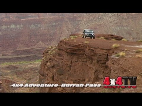 Hurrah Pass Trail Moab Utah in Jeep Rubicon - 4x4TV Adventure Series Videos