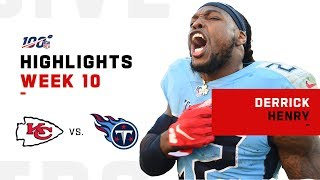 Derrick Henry POPS OFF for 188 Yds & 2 TDs | NFL 2019 Highlights