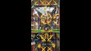 K'nex Grandfather Clock - Chimes And Ball Run On The Hour