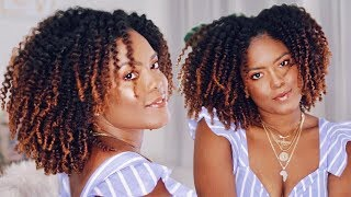 Twistout On Dry Natural Hair + My Fave New Hair Product!