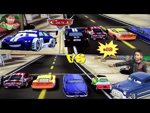 DISNEY PIXAR CARS - MATER NATIONAL - PART#89 - OTTO VS DOC HUDSON