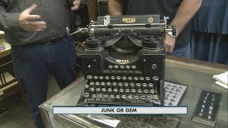 Junk or Gem: Vintage Typewriter 1-26-15