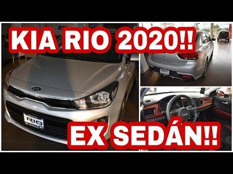 Kia Rio 2020 Ex Sedan    Revisión Completa   Interior Y Exterior   En Español