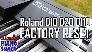 Роланд Д20 заводська | Ролан Д10 | Ролан D110