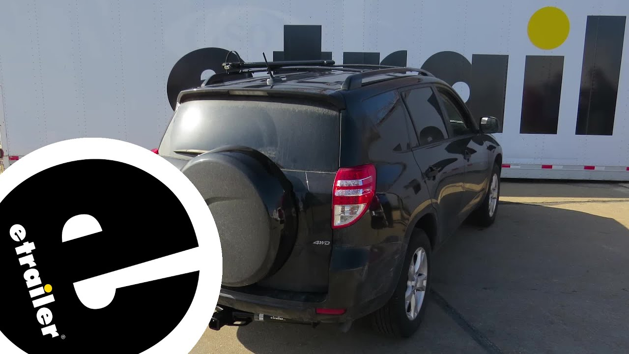 Install Trailer Hitch 2010 Toyota Rav4 75235 Etrailercom YouTube - Install Trailer Hitch Rav4