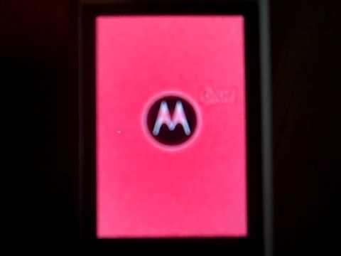 Motorola Devour Custom Boot Screen