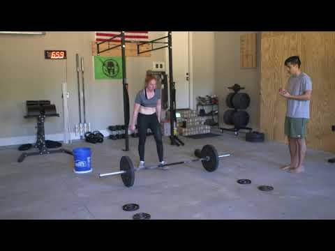 CrossFit Open 18.2  Emily Ting